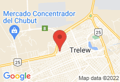 Rayentray Trelew on map