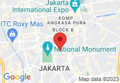 Borobudur on map