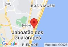 Brisa Praia Hostel on map
