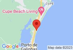 Brisas Do Mar Hostel on map