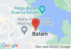 01 Batam Hotel on map