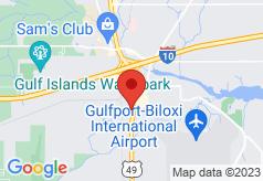 Econo Lodge Inn & Suites Gulfport on map