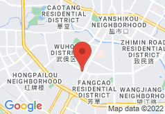Brocade Inn Chengdu on map