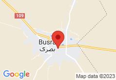 Bosra Cham Palace on map