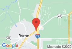 Econo Lodge Byron on map