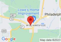 Econo Lodge Inn & Suites Philadelphia on map