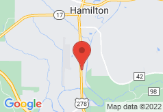 Econo Lodge Inn & Suites Hamilton on map