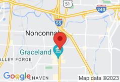 Econo Lodge Inn & Suites Memphis on map