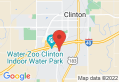Econo Lodge Inn & Suites Clinton on map