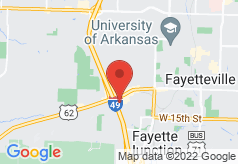 Econo Lodge Fayetteville on map