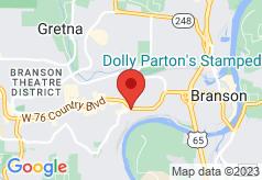 Crown Club Inn Branson on map
