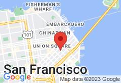 W San Francisco on map
