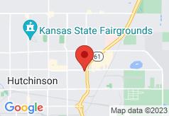 Econo Lodge Hutchinson on map