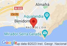 Brisa on map