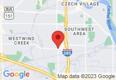 Econo Lodge Cedar Rapids on map