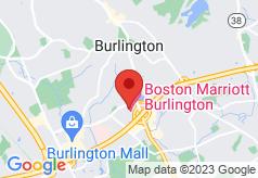 Boston Marriott Burlington on map