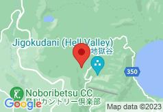Bourou Noguchi Noboribetsu on map