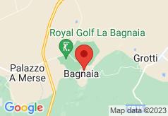 Borgo La Bagnaia on map
