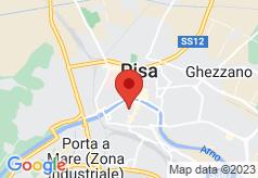 Bologna Hotel Pisa on map