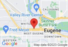 Rodeway Inn Eugene on map
