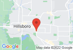 Econo Lodge Inn & Suites Hillsboro on map