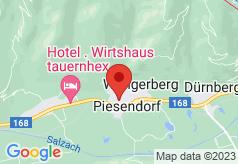 Brundl Nationalpark Yougendgastehaus on map