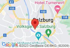 Bristol Salzburg on map