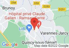 1ere Avenue Val Senart on map