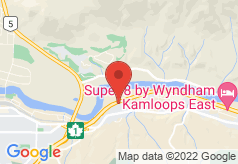 Econo Lodge Inn & Suites Kamloops on map