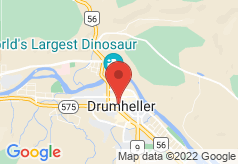 Econo Lodge Inn & Suites Drumheller on map