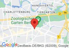 Boulevard am Kurfuerstendamm on map
