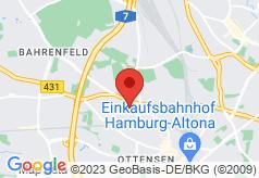 25hours Hotel Hamburg No.1 on map