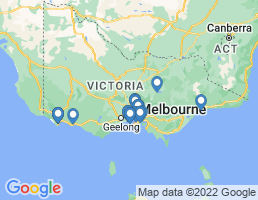 map of fishing charters in Victoria