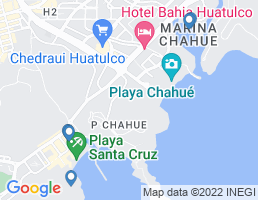 map of fishing charters in Oaxaca