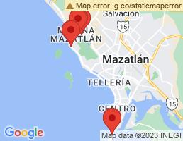 map of fishing charters in Sinaloa