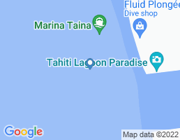 map of fishing charters in French Polynesia