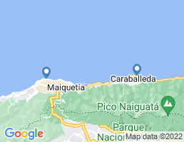 map of fishing charters in Venezuela