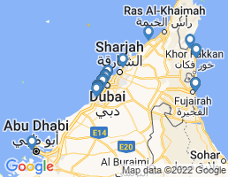 map of fishing charters in United Arab Emirates