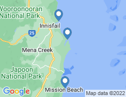 map of fishing charters in Flying Fish Point
