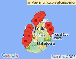 map of fishing charters in La Gaulette