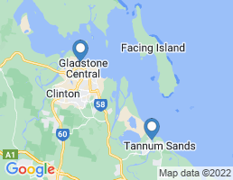 map of fishing charters in West Gladstone