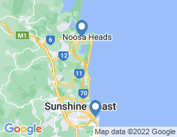 map of fishing charters in Noosa Heads