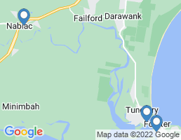 map of fishing charters in Nabiac