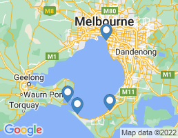 map of fishing charters in Geelong