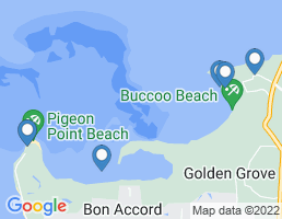 map of fishing charters in Scarborough