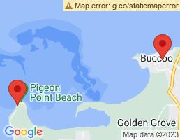 map of fishing charters in Buccoo