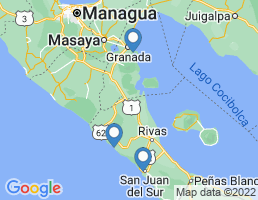 map of fishing charters in Popoyo