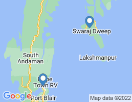 map of fishing charters in Havelock Island