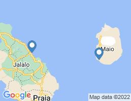 map of fishing charters in Cape Verde