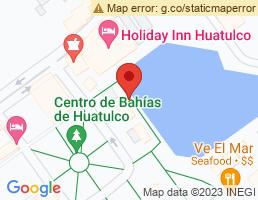 map of fishing charters in Bahias De Huatulco